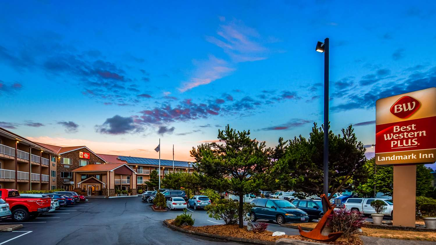 Best Western Plus Landmark Inn Lincoln City