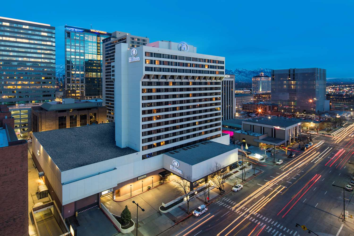 Hilton Hotel Downtown Salt Lake City