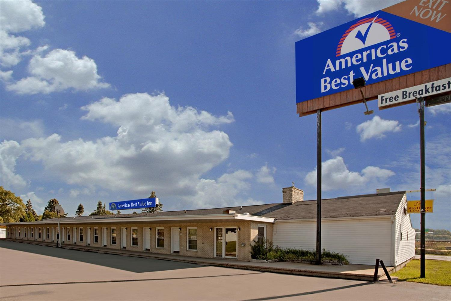 Americas Best Value Inn Mayflower Madison
