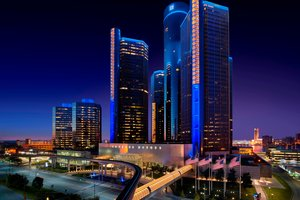Marriott Hotel at Renaissance Center Detroit