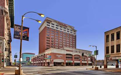 Hampton Inn Downtown at the Arch St Louis