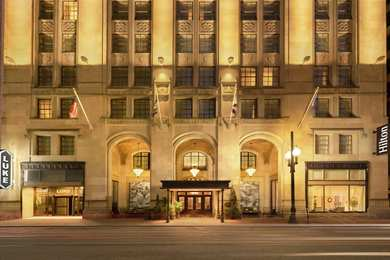 Hilton Hotel St Charles Avenue New Orleans