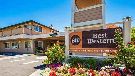 Best Western Sonoma Valley Inn Krug Event Center