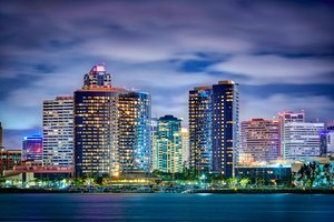 San Diego Map Hotels.25 Good Hotels Near San Diego Convention Center Big Map Of Hotels