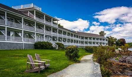 Luxury Smoke Free Full Service Waterfront Hotel On Frenchman Bay In Downtown Bar Harbor 3 Floors 153 Rooms And Suites Elevator