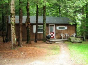 Stowe Cabins In the Woods Waterbury Center