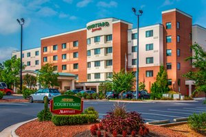 Exterior View Courtyard By Marriott Hotel Airport Greensboro