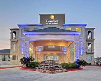 Comfort Inn Suites Beachfront Galveston